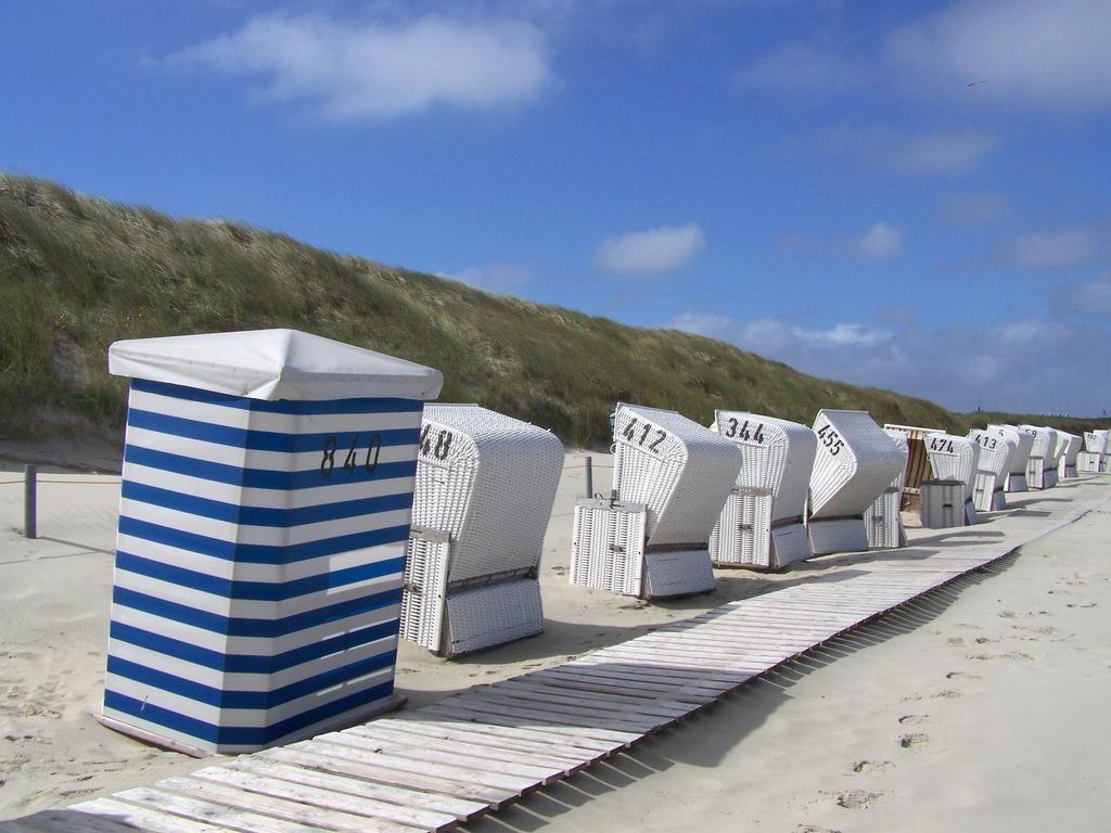 Strandkörbe auf Baltrum