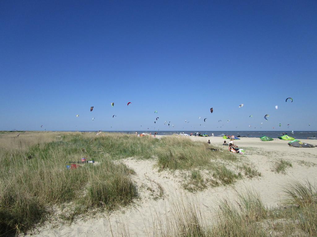 Kitesurfen in Schillig im Wangerland