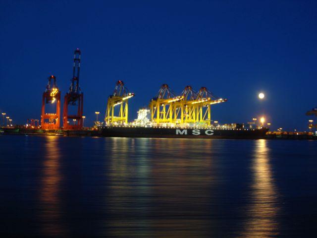 Containerkaje Bremerhaven