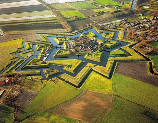 Groningen Festung Bourtange