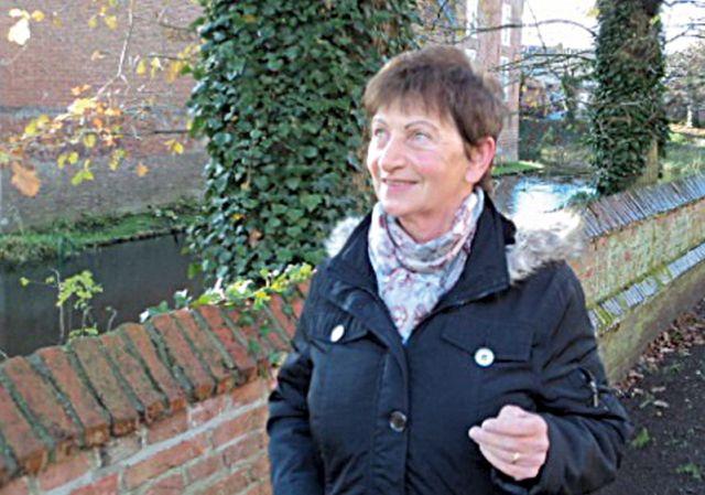 Gästeführerin Anna Heeren